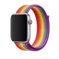 Ремешок для Apple Watch 38/40/42/44mm Sport Loop Rainbow