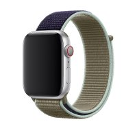 Ремешок для Apple Watch 38/40/42/44mm Sport Loop Khaki