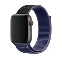 Ремешок для Apple Watch 38/40/42/44mm Sport Loop Midnight Blue New
