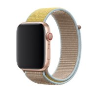Ремешок для Apple Watch 38/40/42/44mm Sport Loop Camel