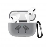 Чехол для наушников Apple AirPods Pro Silicone Case Grey