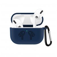 Чехол для наушников Apple AirPods Pro Silicone Case Midnight Blue