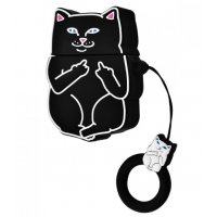 Чехол Cat Fakk Case для AirPods Black