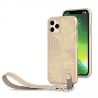 Чехол Moshi Altra Slim Case with Wrist Strap Sahara для iPhone 11 Pro Max Beige