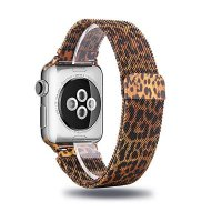 Браслет Apple Watch 42/44mm Milanese Loop (magnetic) Leopard
