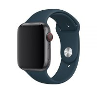 Ремешок Silicone Band для Apple Watch 38/40/42/44mm Pacific Green