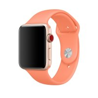 Ремешок Silicone Band для Apple Watch 38/40/42/44mm Peach
