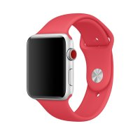Ремешок Silicone Band для Apple Watch 38/40/42/44mm Red Raspberry