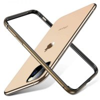 Бампер Silicone-Aluminium для iPhone 11 Pro Max Gold
