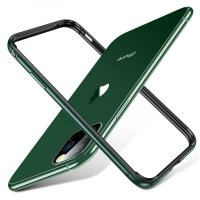 Бампер Silicone-Aluminium для iPhone 11 Pro Max Midnight Green