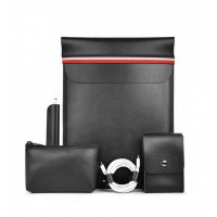 Чехол WiWU 5в1 Elite Protect Set для Macbook Air/Pro 13 Black