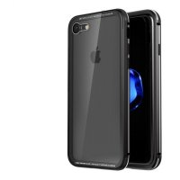 Чехол для iPhone 7/7plus. iPhone 8/8 plus Luphie GLASS PROTECTION Black