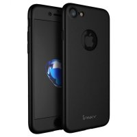 Чехол пластиковый iPhone 7.7 plus/ 8.8 plus IPAKY 360 Full Black