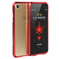 Бампер Luphie Ultra Luxury Red for iPhone 7.7 plus/ 8.8 plus