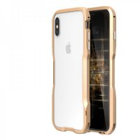 Бампер Luphie Ultra Luxury для iPhone XS Max Gold