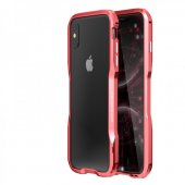 Бампер Luphie Ultra Luxury для iPhone XS Max Red
