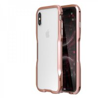 Бампер Luphie Ultra Luxury для iPhone XS Max Rose Gold