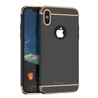 Чехол матовый iPaky Black Full Cover For iPhone X/XS / iPhone 10