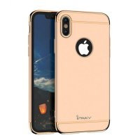 Чехол матовый iPaky Gold Full Cover For iPhone X/XS / iPhone 10