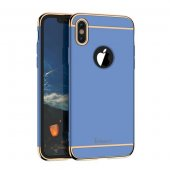 Чехол матовый iPaky Blue Full Cover For iPhone X/XS / iPhone 10