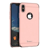 Чехол матовый iPaky Pink Full Cover For iPhone X/XS / iPhone 10