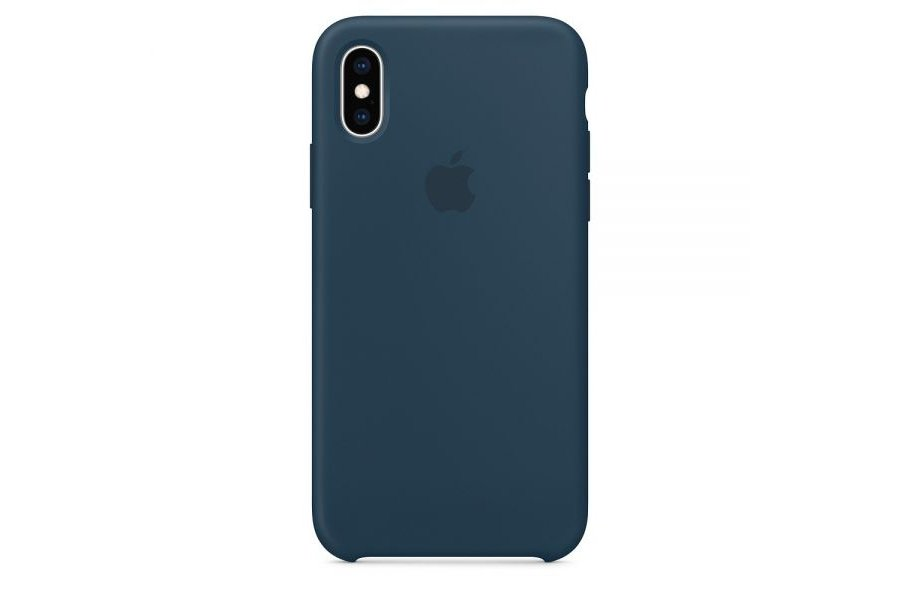 Силиконовый чехол Apple Silicone Case Pacific Green для iPhone X/XS / iPhone 10