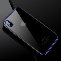Чехол Silicone Case CAFELE iPhone X/XS / iPhone 10 Blue