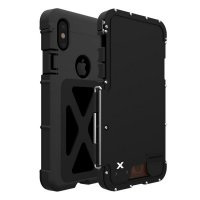 Чехол R-just Flip Armor King для iPhone XS Max Black