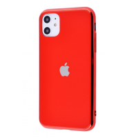 Чехол Glass iPhone case для iPhone 11 Red