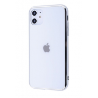 Чехол Glass iPhone case для iPhone 11 White