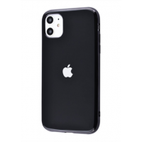 Чехол Silicone iPhone case для iPhone 11 Black