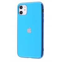 Чехол Silicone iPhone case для iPhone 11 Blue