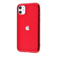 Чехол Silicone iPhone case для iPhone 11 Red