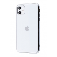 Чехол Silicone iPhone case для iPhone 11 White