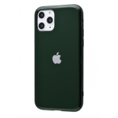 Чехол Silicone iPhone case для iPhone 11 Pro Forest Green