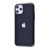 Чехол Glass iPhone case для iPhone 11 Pro Max Black