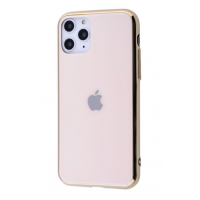 Чехол Glass iPhone case для iPhone 11 Pro Max Gold