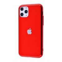 Чехол Glass iPhone case для iPhone 11 Pro Max Red