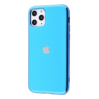 Чехол Silicone iPhone case для iPhone 11 Pro Max Blue
