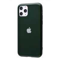Чехол Silicone iPhone case для iPhone 11 Pro Max Midnight Green