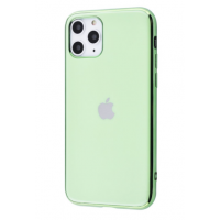 Чехол Silicone iPhone case для iPhone 11 Pro Max Mint Gum