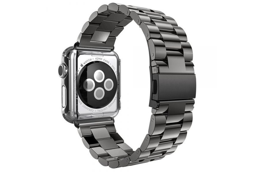 Браслет Steel Watch Band Black For Apple Watch 38/40mm HOCO накладка