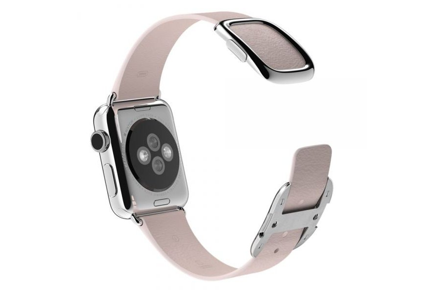 Браслет Pink Modern Buckle for Apple Watch 42/44mm