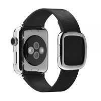 Браслет Black Modern Buckle for Apple Watch 38/40mm