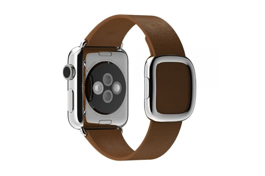 Браслет Brown Modern Buckle for Apple Watch 38/40mm