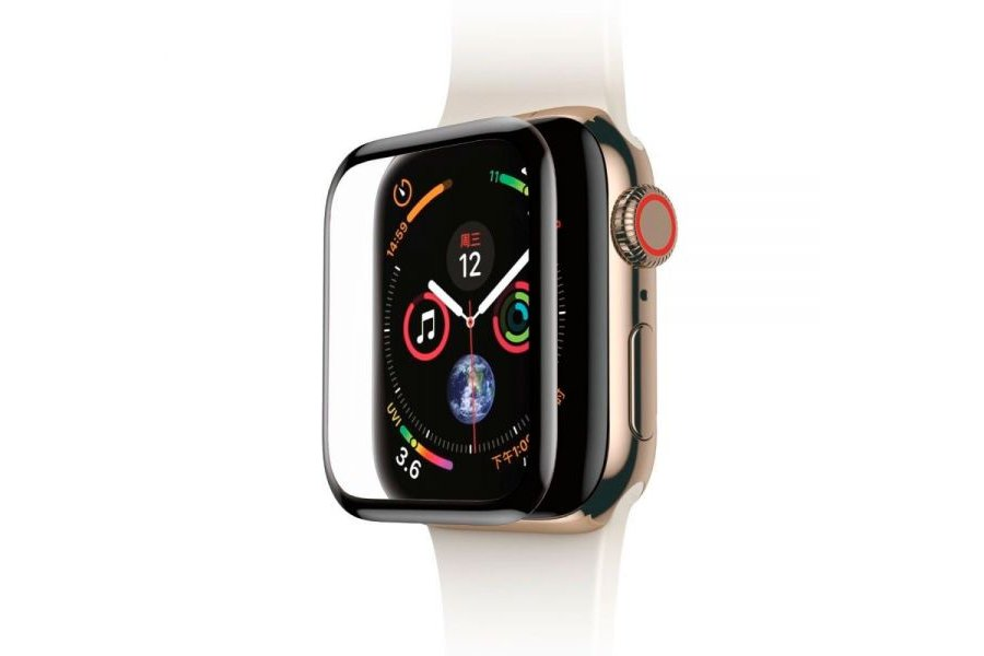 Защитное стекло Baseus 0.3mm Full Screen Black для Apple Watch 38/40mm