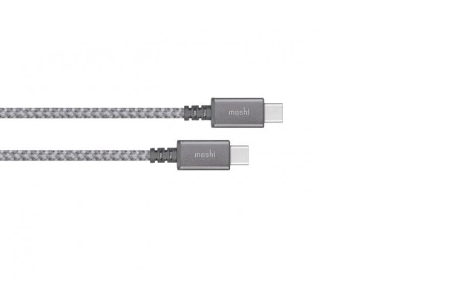Moshi Integra USB-C to USB-C Cable Titanium Gray (2 m) (99MO084212)