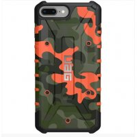 Чехол UAG Pathfinder камуфляж GREEN-RED для iPhone 7/8 plus