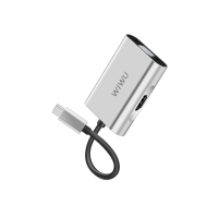 Адаптер WIWU Apollo A20VH USB-C to HDMI+VGA (6957815507122 ) Silver