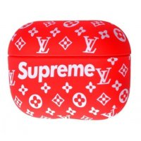 Чехол IMD Brand Case for AirPods Pro Supreme Red